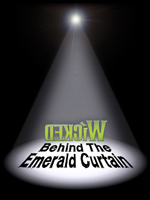 Behind the Emerald Curtin