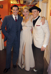 Mark Ledbetter, Sutton Foster and Colin Donnell