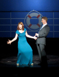 Mark Ledbetter and Tari Kelly performing at Anything Goes group sales event