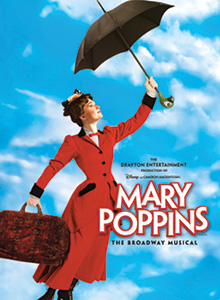 Mary Poppins at the Dunfield Theatre in Cambridge, Ontario Canada Drayton Entertainment
