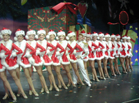 Mark Ledbetter and the Rockettes