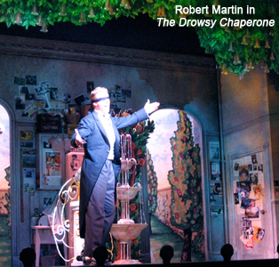 Mark Ledbetter as Robert Martin in The Drowsy Chaperone