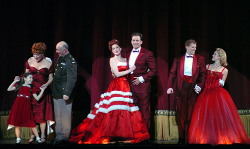Mark Ledbetter and Company in White Christmas
